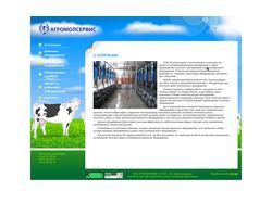 Сайт компании Агромолсервис