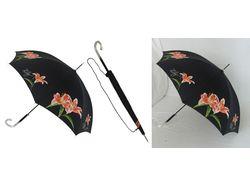 Обтравка зонтика, перо.