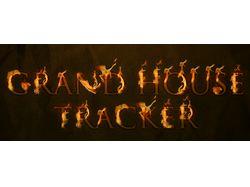 Логотип в огне