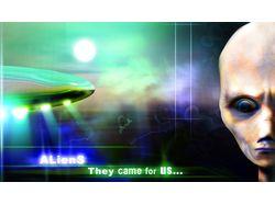 фотомонтаж на тему пришельцев