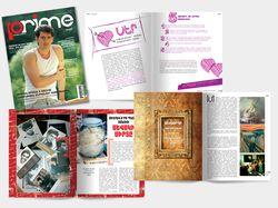Дизайн и верстка журнала Prime #5