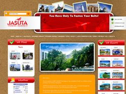 Сайт тур агенства Jasuta Travel