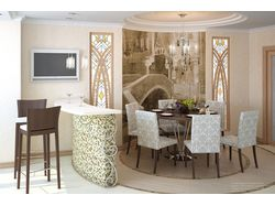 Визуализация идеи интерьера комнаты