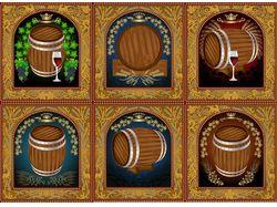 Варианты пивных и винных этикеток