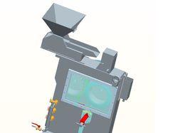 Сепаратор валковый с постоянными магнитами