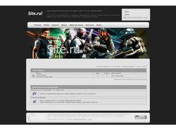 Шаблон для ucoz на тему Game Portal - продается