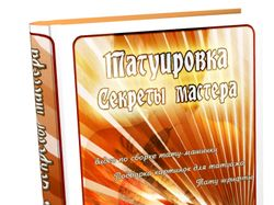 """Обложка для книги """"Tату. Секреты мастера"""""""