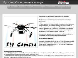Проект летающая камера в Сочи