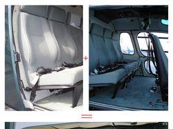 Салон вертолета