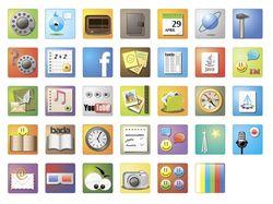 Иконки для мобильного телефона