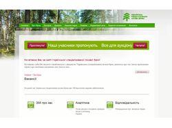 Сайт Лесной биржи