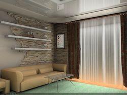 Дизайн гостинной комнаты (зал)