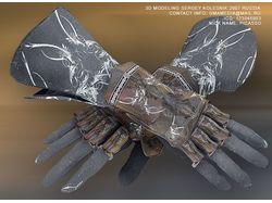 3д модель перчаток для игрового проекта