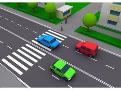 3d моделирование дорожной ситуации