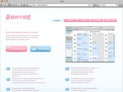 "Дизайн макет онлайн-сервиса ""Бантик"""