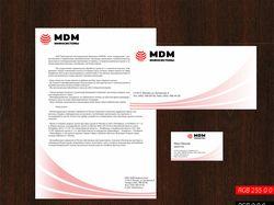 Фирменный стиль для MDM Инфосистемы