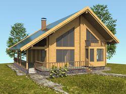 Дом, просто деревянный дом