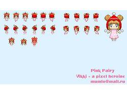 Розовая фея Викки (первичный вариант)