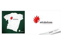Логотип для сайт astratest