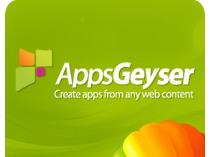 Дизайн сайта аппа Appsgeyser