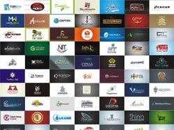 Логотипы выполненных проектов