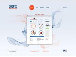 Вёрстка сайта дизайн студии