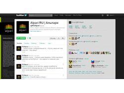Продвижение микроблога Альпари в twitter