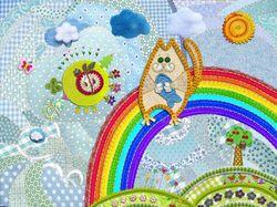 Пэчворк детская иллюстрация