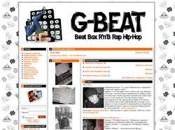 Сайт музыкальной тематики G-Beat