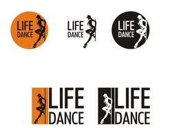 "Логотип для студии танца ""life & danсe"""
