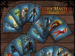 Карты для игры Tetra Mastrer