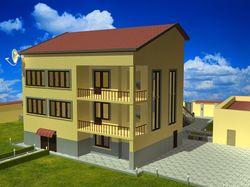 Модель дома N1