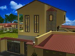 Модель дома N2