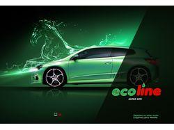 """Флеш сайт для компании """"Eco Line"""""""