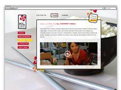 Дизайн сайта японской кухни для Atelier Olive
