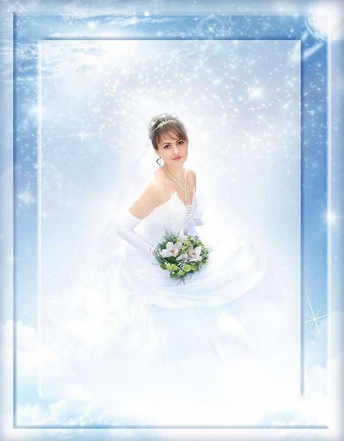 обработка свадебной фотографии в высоком ключе потоки