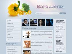 Сайт о диетах