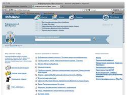 Разработка сайта «Информационный банк Украины»