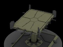 Hi-Poly Concept: Lift (Подъемник)