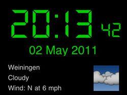 Meteo Clock