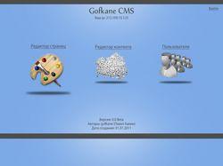 Дизайн для CMS