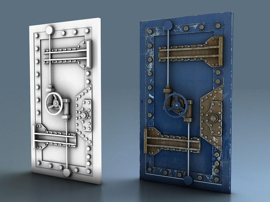 бронированная железная дверь