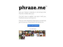 Phraze.me социальный сервис
