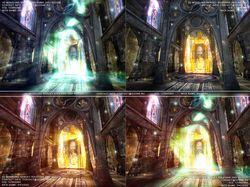 храм перерождения анимация эффекты