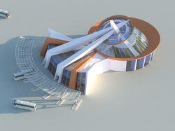 Студенческий проект автовокзала