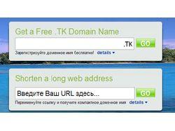 Автореггер доменов в DOT.TK
