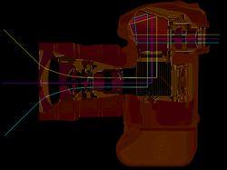 Nikon D2X в разрезе