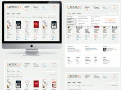Книжный магазин E-Book. Концепт.