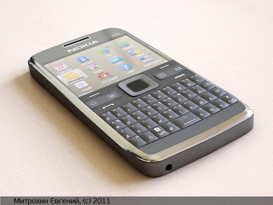 Nokia e72 - живые фото и видео