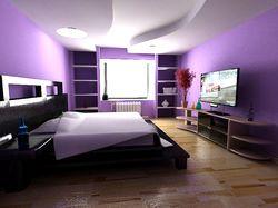 Визуализация спальни для барышни